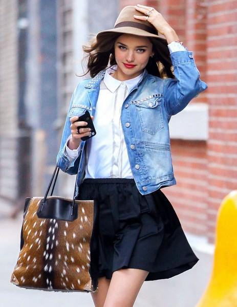 mode comment porter une veste en jean mode caroline
