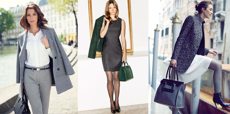 Comment s habiller tendance pour aller au bureau blog mode caroline - Tenue bureau femme ...